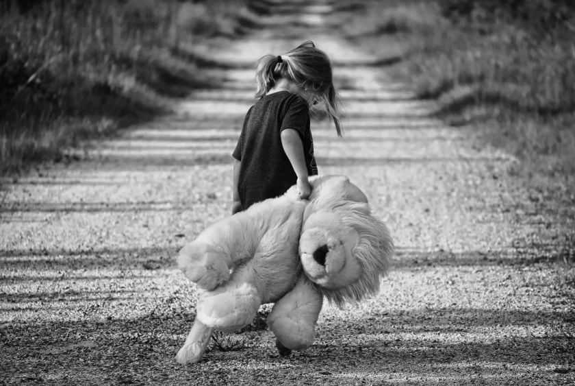 road walking cute young